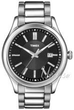 Timex Musta/Teräs Ø40 mm