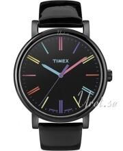 Timex Easy Reader Musta/Nahka