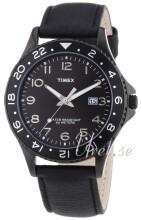 Timex Sports Musta/Nahka