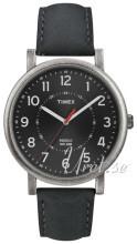 Timex Classic Musta/Nahka