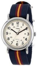 Timex Valkoinen/Tekstiili