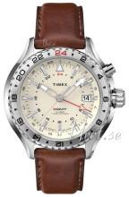 Timex Intelligent Beige/Nahka