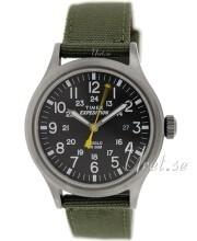 Timex Expedition Musta/Tekstiili