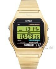 Timex Classic LCD/Kullansävytetty teräs