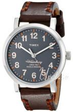 Timex Harmaa/Nahka