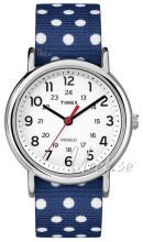 Timex Weekender Valkoinen/Tekstiili