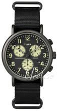 Timex Weekender Musta/Teräs Ø41 mm