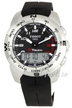 Tissot Touch Collection T Touch Musta/Kumi Ø43.6 mm