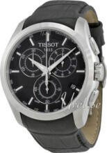 Tissot T-Trend Couturier Musta/Nahka Ø41 mm