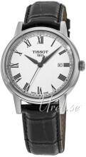 Tissot T-Classic Carson Automatic Valkoinen/Nahka Ø40 mm