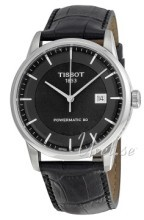 Tissot T-Classic Luxury Automatic Musta/Nahka Ø41 mm