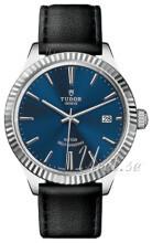 Tudor Style Sininen/Nahka