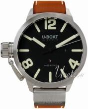 U-Boat Classico Musta/Nahka Ø45 mm