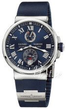 Ulysse Nardin Marine Collection Sininen/Kumi Ø43 mm