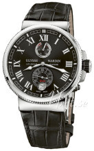 Ulysse Nardin Marine Collection Musta/Nahka Ø43 mm