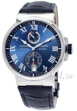 Ulysse Nardin Marine Collection Sininen/Nahka Ø43 mm