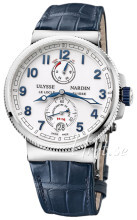 Ulysse Nardin Marine Collection Valkoinen/Nahka Ø43 mm