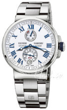 Ulysse Nardin Marine Collection Valkoinen/Teräs Ø43 mm