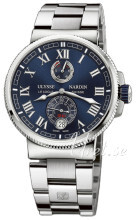 Ulysse Nardin Marine Collection Sininen/Teräs Ø43 mm