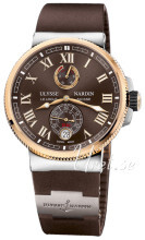 Ulysse Nardin Marine Collection Ruskea/Kumi Ø43 mm