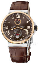 Ulysse Nardin Marine Collection Ruskea/Nahka Ø43 mm